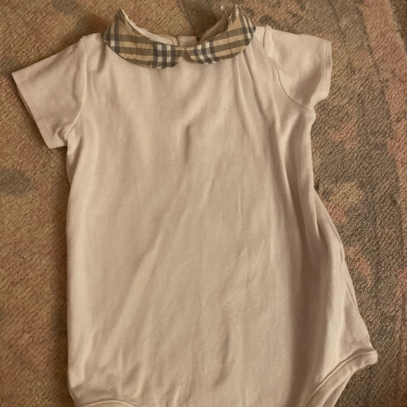 Baby girl Burberry onesie